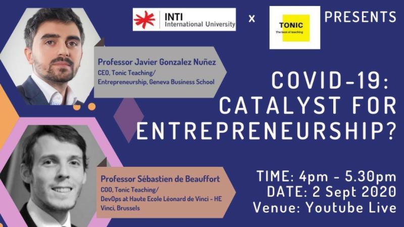 catalyst for entrepreneurship